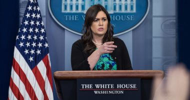 السكرتيرة الصحفية سارة ساندرز