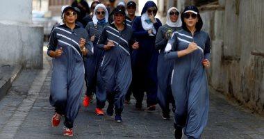 صور.. سعوديات يشاركن فى ماراثون جرى بشوارع جدة احتفالا باليوم العالمى للمرأة