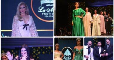 تكريم نجوم الفن بمهرجان الموضة العربية فى دورته الثانية