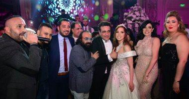 نجوم الفن والغناء فى حفل زفاف محمد رحيم ومدربة الأسود أنوسة كوتة