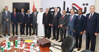 السفير محمود كارم يستعرض خطة عمل حملة السيسى مع سفراء الدول العربية