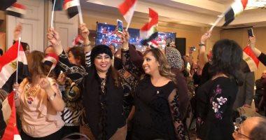 الهيئة القبطية بنيويورك تدعو لدعم الجالية المصرية بأمريكا فى استقبال السيسى
