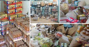 تحرير 10 محاضر لمنشآت غذائية ببني سويف خالفت الإشتراطات الصحية