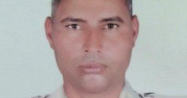 خفير شرطة يضحى بحياته لإنقاذ مواطن قبل دهسه تحت عجلات قطار سمالوط