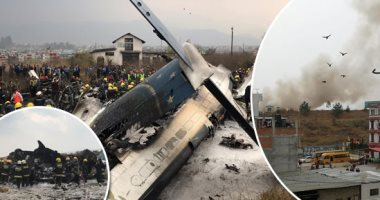 تحطم طائرة ركاب من بنجلاديش أثناء هبوطها فى مطار بنيبال