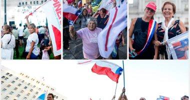 """التشيليون يحتفلون بفوز الرئيس """"بينيرا"""" بولاية جديدة لرئاسة البلاد"""