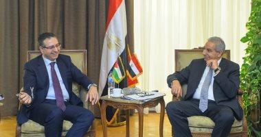 وزير التجارة: ندرس إنشاء مركز لوجيستى مصرى -أردنى للمساهمة فى إعادة إعمار العراق