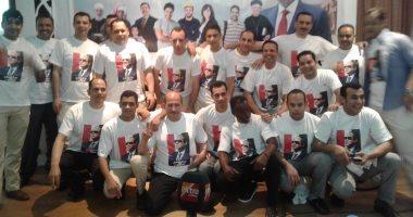 """صور.. """"كلنا معاك من أجل مصر"""" تنظم مؤتمرا حاشدا لدعم السيسي فى الانتخابات بطابا"""
