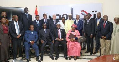 17 سفيرا أفريقيا يؤكدون ثقتهم فى الانتخابات خلال زيارة مقر حملة السيسي