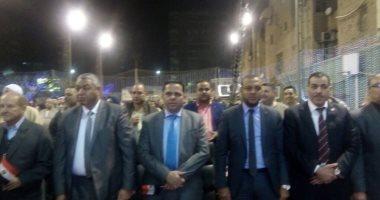 صور.. بدء المؤتمر الجماهيرى لدعم السيسى بالعمرانية بحضور نواب البرلمان