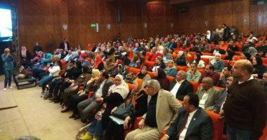 """صور.. """"كلنا معاك من أجل مصر"""" تنظم مؤتمرا حاشدا بقصر ثقافة الإسماعيلية"""