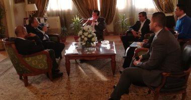 وزير التعليم العالى يستقبل مدير مكتب اليونسكو الإقليمى بالقاهرة