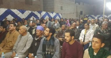مؤتمر جماهيرى حاشد بمركز طهطا لتأييد السيسى فى انتخابات الرئاسة
