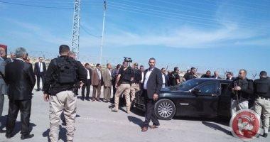 أول صور لموقع انفجار موكب رامي الحمدالله رئيس الوزراء الفلسطينى فى غزة
