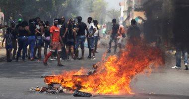 صور.. اشتباكات عنيفة بين متظاهرين والشرطة بمدينة كولون فى بنما