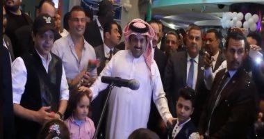 تركى آل الشيخ ينشر فيديو زيارته لمستشفى 57357
