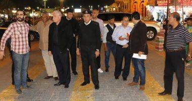 محافظ جنوب سيناء يتفقد أعمال تطوير السوق القديم و قصر ثقافة شرم الشيخ (صور)