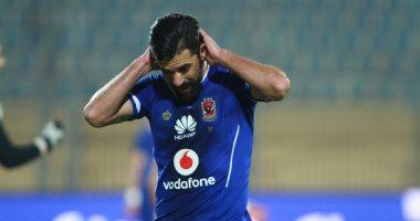 عبد الله السعيد خارج حسابات الأهلى لنهاية الموسم