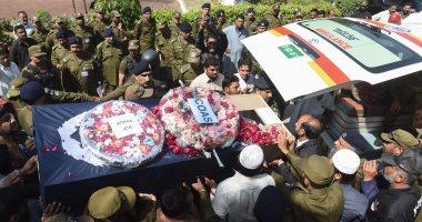 صور.. ارتفاع حصيلة ضحايا تفجير مركزا للشرطة بباكستان إلى 9 قتلى و20 مصابا -