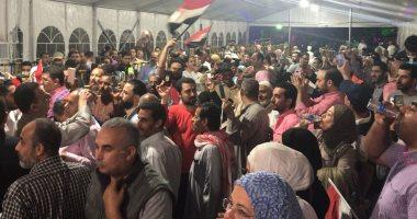 حشود الناخبين المصريين بالكويت