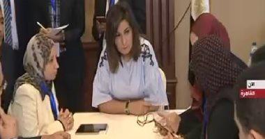 فيديو.. وزيرة الهجرة تتابع سير انتخابات المصريين فى الخارج بغرفة العمليات