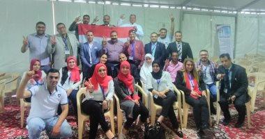 فيديو وصور .. توافد الناخبين على قنصلية مصر  فى جدة