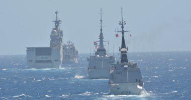 تدربيات القوات البحرية