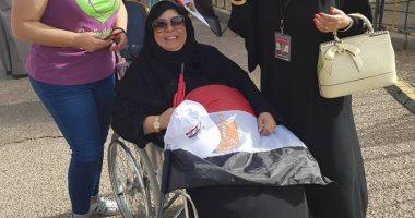 ذوى الاحتياجات يسطرون صفحة جديدة من ملحمة الوطنية المصرية بالانتخابات.. صور