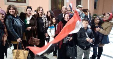 إقبال حاشد للمصريين بإيطاليا