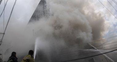 صور.. ارتفاع حصيلة ضحايا حريق فندق بالفلبين إلى 5 قتلى  -