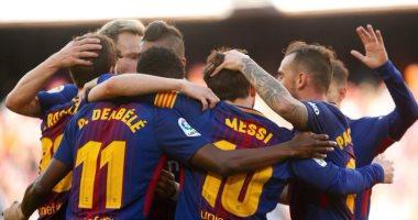 أخبار برشلونة اليوم عن 15 مباراة تفصل البارسا عن الثلاثية التاريخية -