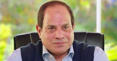 """6 رسائل من حوار الرئيس السيسى مع ساندرا نشأت فى """"شعب ورئيس"""".. صور"""
