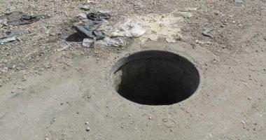 قارئ يطالب بإدخال شبكة الصرف لشارع سكة المدينة فى المنوفية