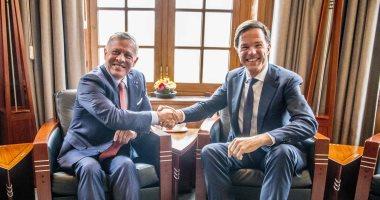 صور.. ملك الأردن يؤكد أهمية دور الاتحاد الأوروبى فى تحريك عملية السلام