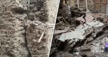 مصرع شقيقتين فى انهيار منزل بمركز جرجا فى سوهاج