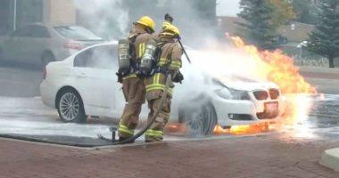 حرائق السيارات - أرشيفية