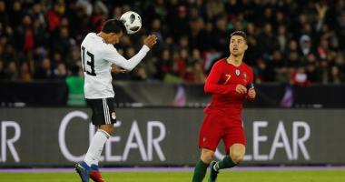 تعادل سلبى بين مصر والبرتغال بعد 30 دقيقة.. والسعيد يحرم رونالدو من هدف