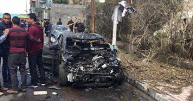 """""""الصحة"""": خروج المصابين فى حادث تفجير الإسكندرية من المستشفى الإثنين"""