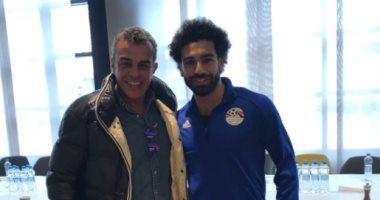 خالد مرتجي يحضر مباراة مصر وروسيا بالمونديال