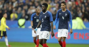 """""""ليكيب"""" تحمل ثنائى برشلونة وريال مدريد هزيمة فرنسا أمام كولومبيا"""