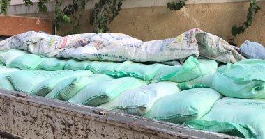 ضبط 3 أطنان دقيق مدعم ومواد غذائية مجهولة المصدر فى حملة تموينية بالبحيرة