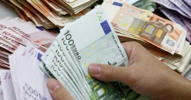 سعر اليورو الأوروبى اليوم الخميس 23-4-2020 أمام الجنيه المصرى -
