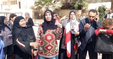 رؤساء اللجان بمنشأة القناطر يشيدون بالإقبال الكبير من السيدات على الانتخابات