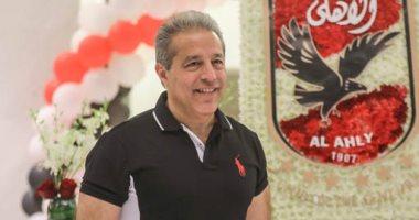 خالد الدرندلي يبحث مع عبد الحفيظ ترتيبات رحلة الأهلي للسودان