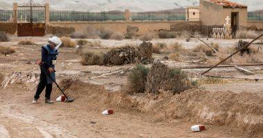 إزالة ألغام ومخلفات حربية من أراضي 7 كنائس بالضفة الغربية المحتلة