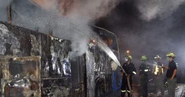 سائق يضرم النار فى حافلة تقل أطفالا بإيطاليا احتجاجا على غرق المهاجرين