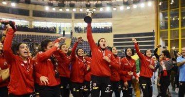 سيدات الأهلى أمام الشمس اليوم فى ربع نهائى البطولة الأفريقية للطائرة