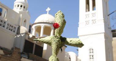 اليوم..الكنائس ترفع قداسات أحد السعف.. ذكرى دخول المسيح أورشليم