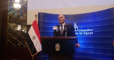 """وزير الري يؤكد على منافسة """"أسبوع القاهرة للمياه"""" عالميا.. فيديو"""