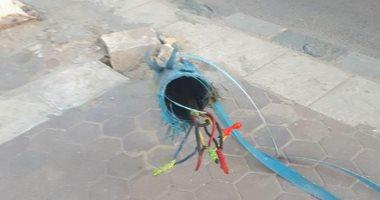 شكوى من وجود أسلاك كهربائية عارية تهدد سكان الشاطبى فى الإسكندرية